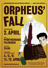 "Poster ""Orpheus' Fall"""